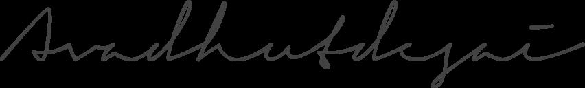 Avadhut Desai Signature
